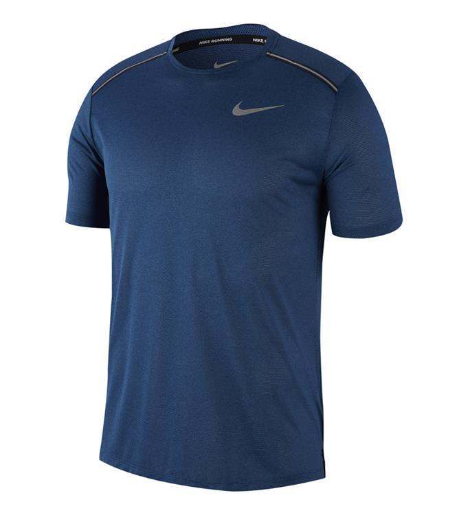 Blauw heren t-shirt Nike - AJ7574 438