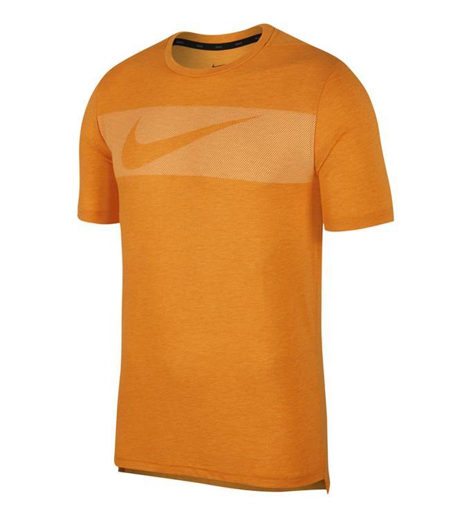 Oranje heren t-shirt Nike - AJ8004 833