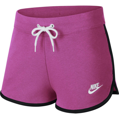 Roze dames short Nike heritage fleece short - AR2414 623