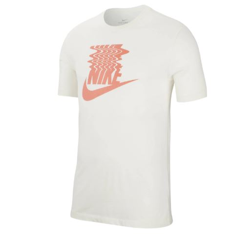 Wit heren t-shirt Nike - BQ1265 133