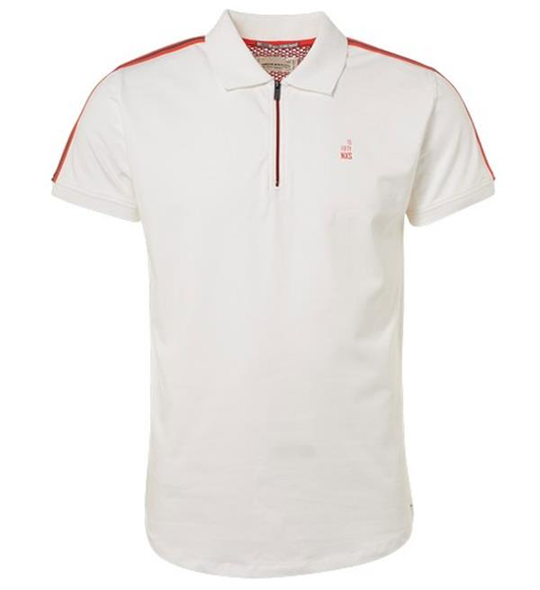 Witte heren polo No Excess - 91370510 010
