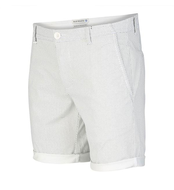 Wit heren short Blue Industry - CBIS19-M7