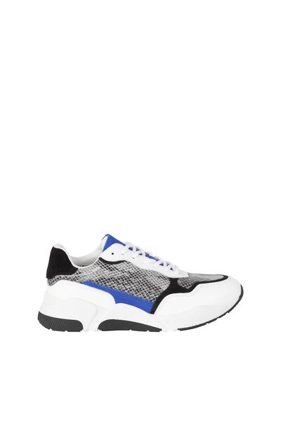 37485eb73f2 Witte dames schoenen met print Monshoe - 652.91.722.01