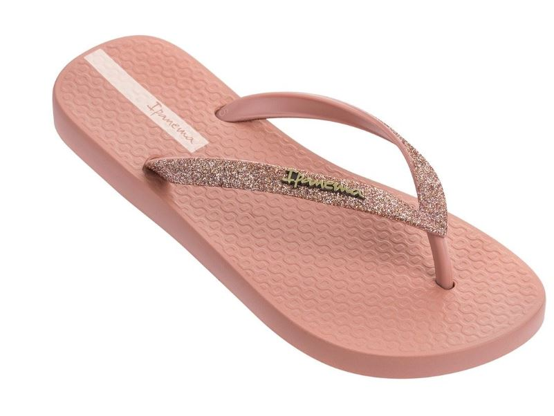 Roze dames slippers met glitterbandje Ipanema - IP81739