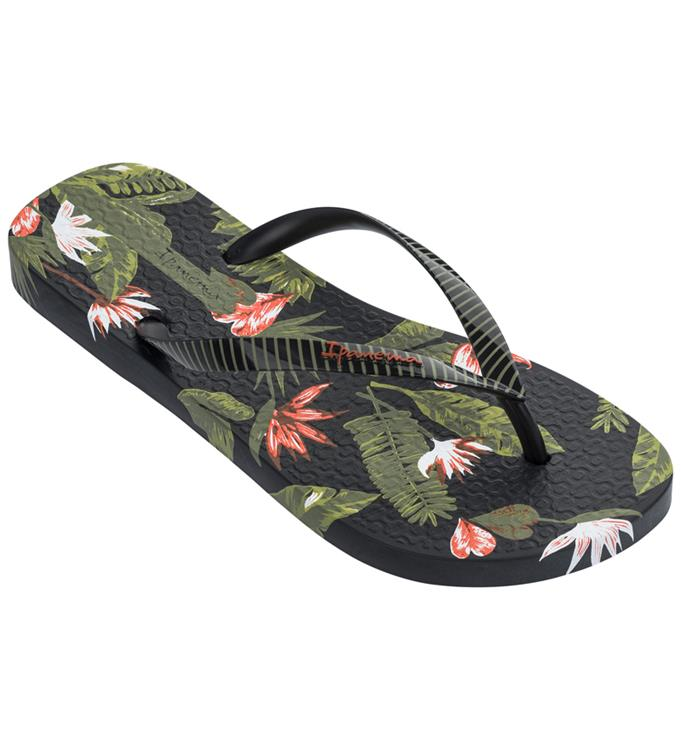 Zwarte dames slipper met print Ipanema - IP26284