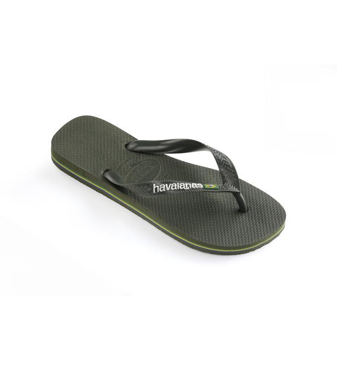 Donkergroene heren slippers Havaianas - 4110850- 4896
