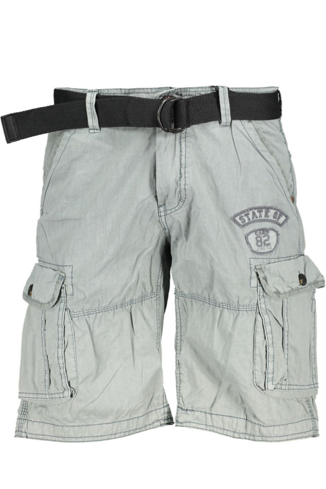 Grijze heren short Cars jeans - 44043-73