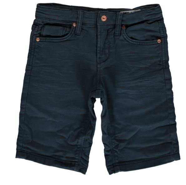 Donkerblauwe heren short Cars Jeans - 4502757