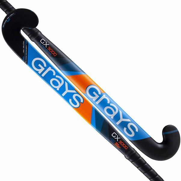 Zwart blauwe hockeystick Grays GX3000 Ultrabow - 2301963