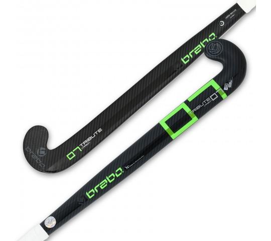 Zwart/groene hockeystick Brabo TC-7 - 315.92320.000