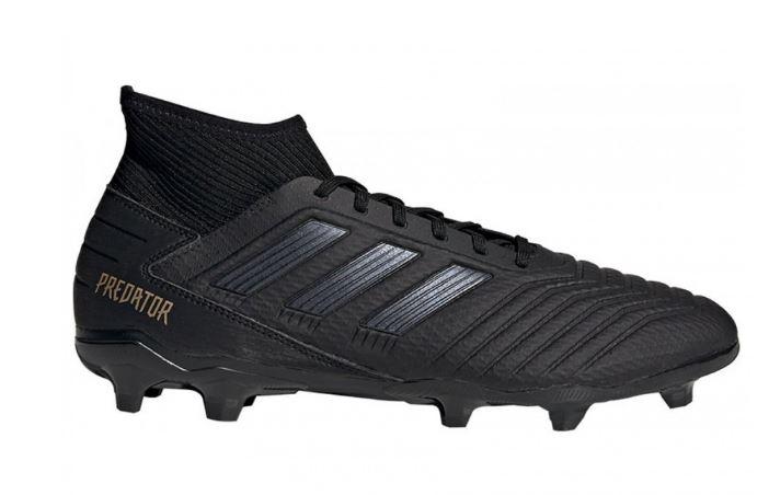 Zwarte voetbalschoenen Adidas Predator 19.3 FG - F35594