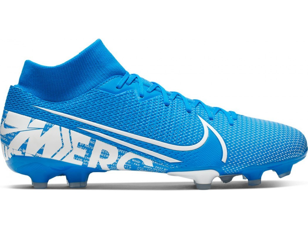 Blauwe voetbalschoenen Nike Superfly 7 Academy FG/MG - AT7946 414