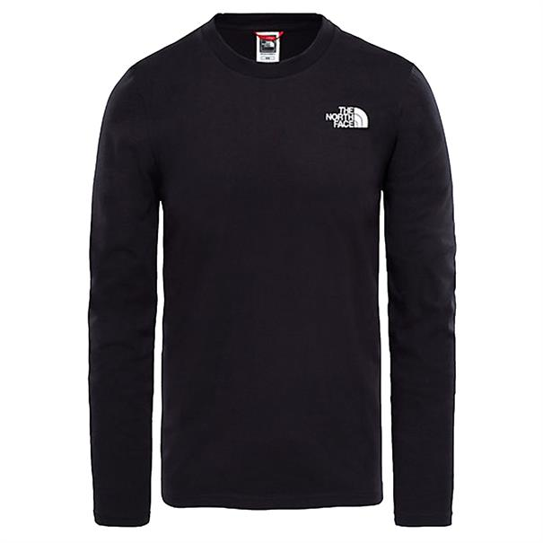 zwart Tshirt The North Face Easy tee