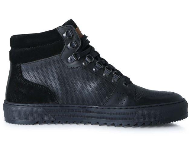 Zwarte heren schoenen Brunotti Sagres Hi top - F192175068