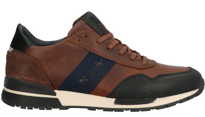 Bruine heren schoenen New Zealand Auckland Kauri - 1942037501 2400