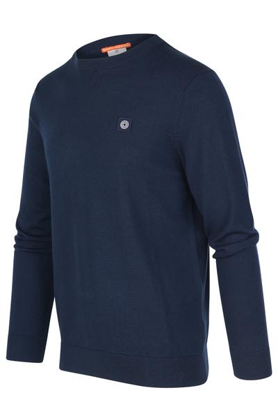 Donkerblauwe heren trui Blue Industry - KBIW19-M29