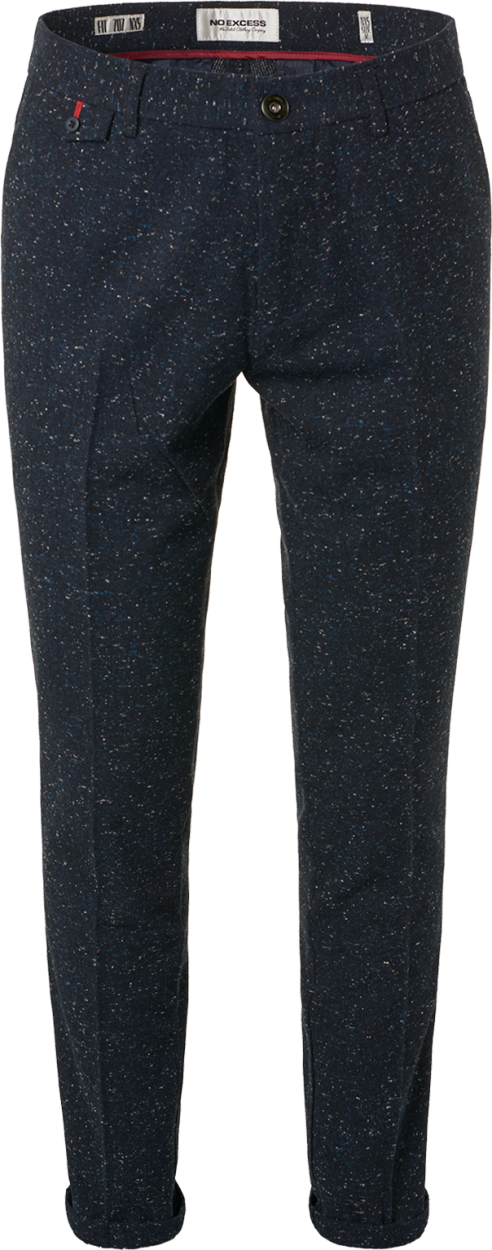 Donkerblauwe heren broek No Excess - 92707080334