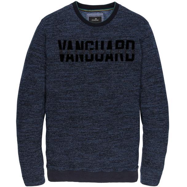 Blauwe heren trui Vanguard - VSW196210 5281