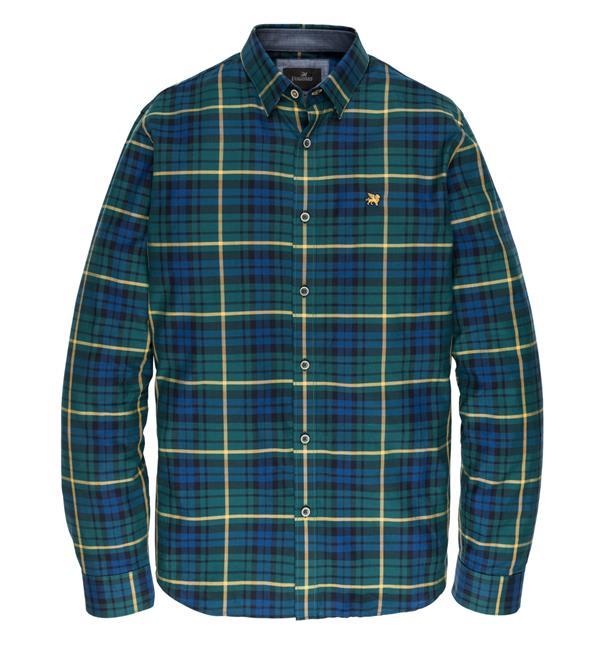 Groen heren overhemd met print Vanguard - VSI196430 6078