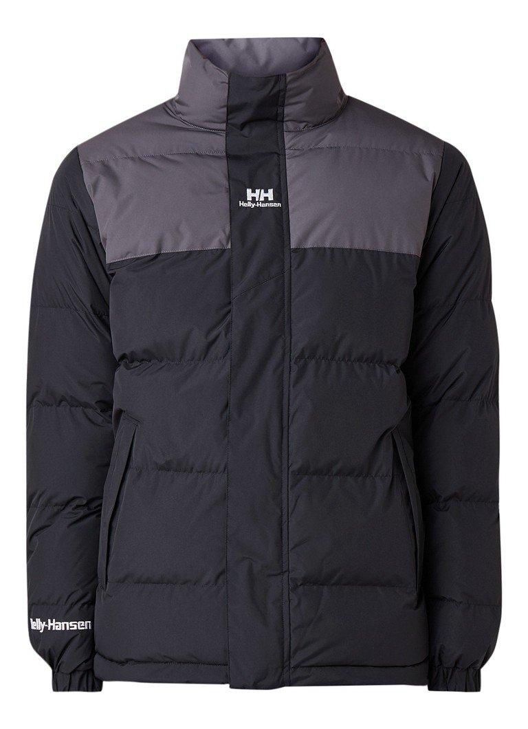 Zwarte heren Jas Helly Hansen YU Puffer Jacket - 53380-990