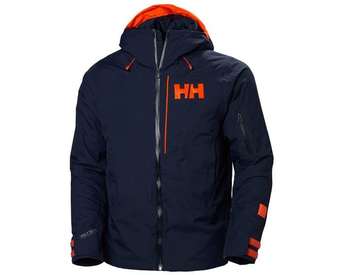Donkerblauwe heren jas Helly Hansen Pow Jumper - 65698-597