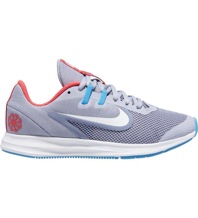 Grijze kinderschoenen Nike Downshifter 9 JDI GS - CJ7234 500