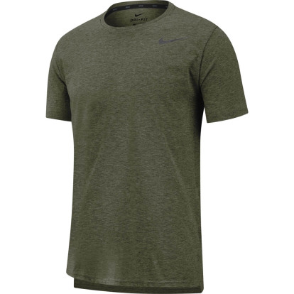 Groen heren t-shirt Nike Dri-fit Breathe - AJ8002 325