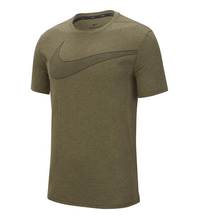 Groen heren tshirt Nike Breathe Hyperdry - BV2860 325