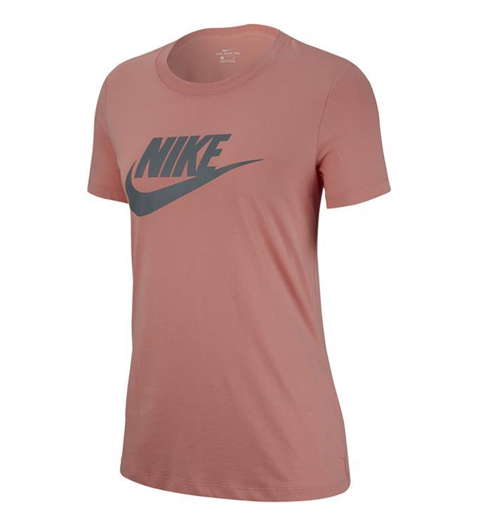 Roze dames tshirt Nike Essential Icon Futura - BV6169 606