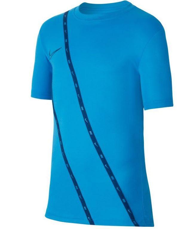 Blauw heren t-shirt Nike Dry Academy GX435