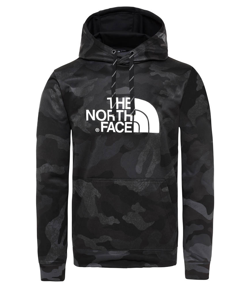 zwarte heren hoodie The North Face M Sur HD