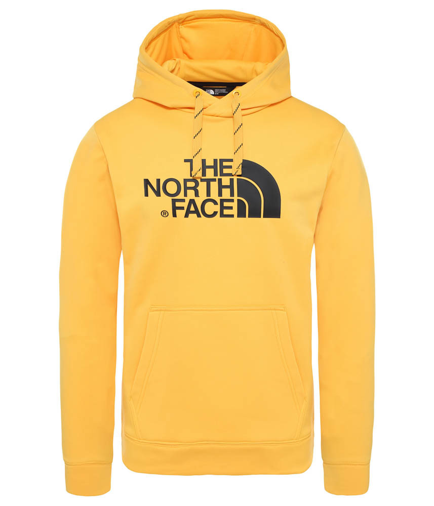 Gele heren Hoodie the North Face M Sur HD