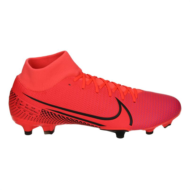 Rode voetbalschoenen Nike Superfly 7 Academy FG/MG - AT7946 606