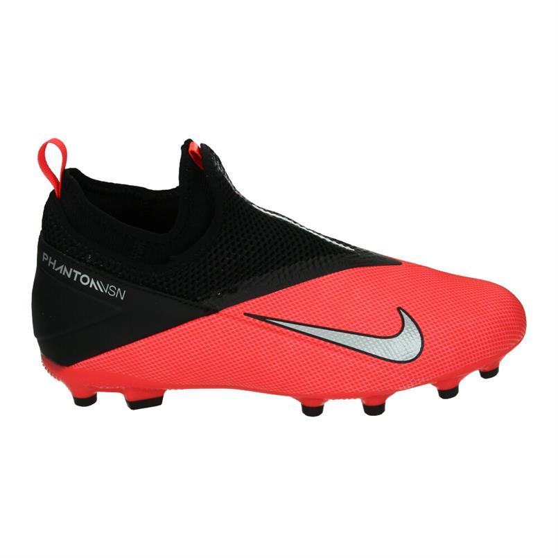 Rood/zwarte kindervoetbalschoenen Nike Phantom VSN 2 Academy FG/MG - CD4059 606
