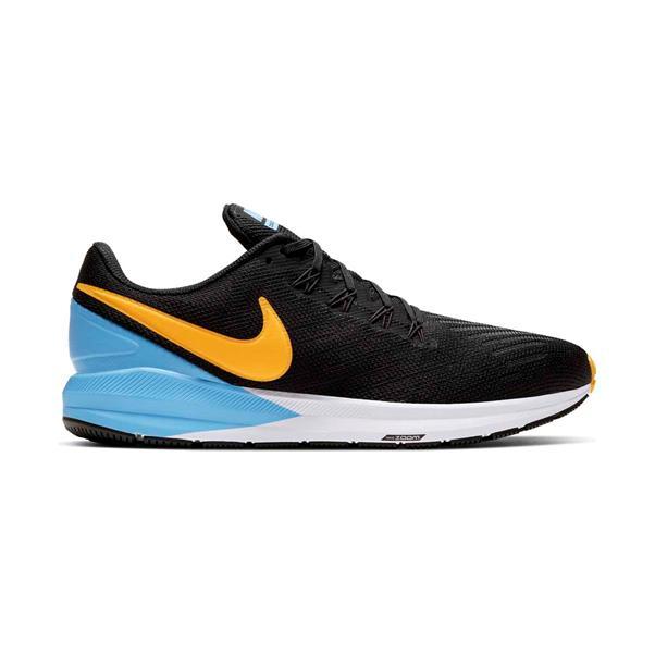 Zwart/blauwe herenschoen Nike Air Zoom Structure 22 - AA1636 011