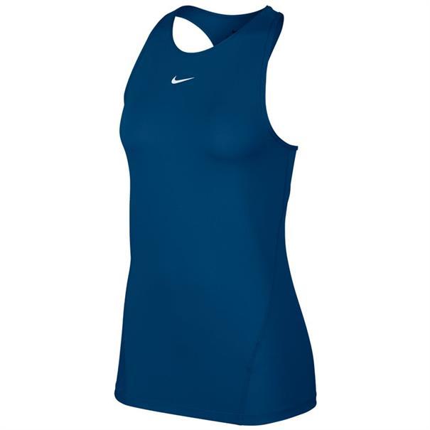 Blauwe dames tanktop Nike Pro - AO9966 432