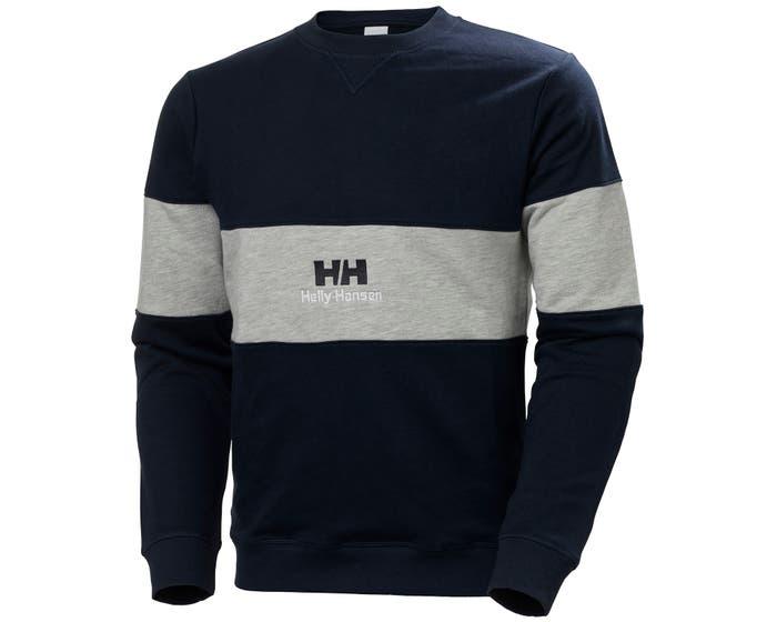 Blauw/grijze heren trui Helly Hansen YU20 crewneck - 53457-597