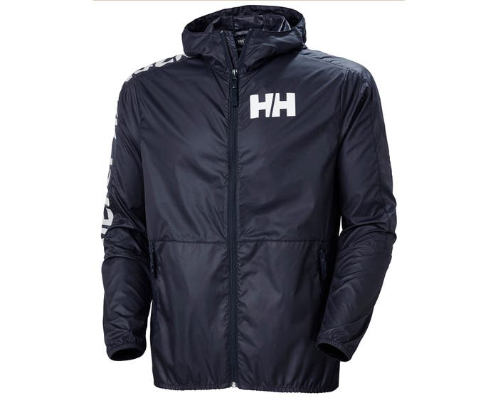 Blauwe heren windbreaker Helly Hansen Active windbreaker - 53442-597
