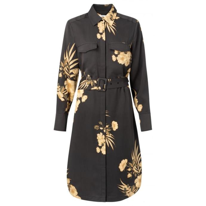 Zwarte dames jurk Yaya - 1801208-013 943051