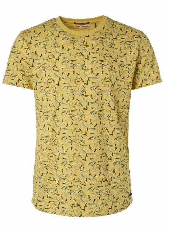 Groen heren t-shirt No Excess - 95350355 056