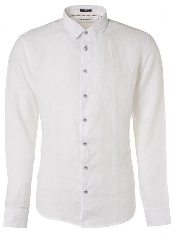 Wit heren overhemd No Excess - 95450207 010