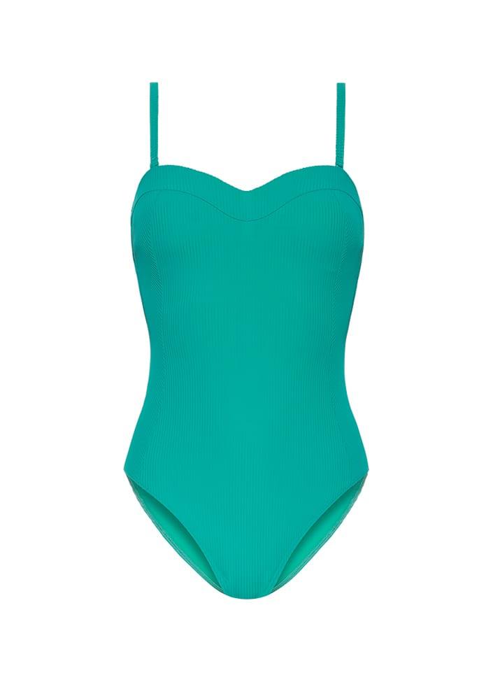 Turquoise Badpak Cyell Rib Esmerald - 020318-7640