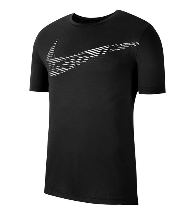 Zwart heren tshirt Nike Top SS HPR DRY GX - CJ4615 011