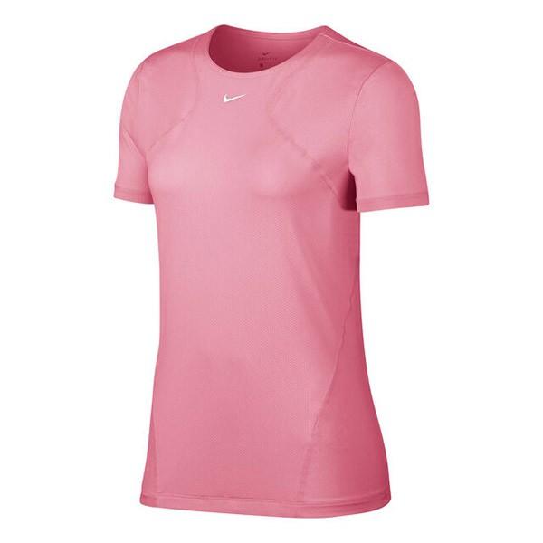 Roze dames tshirt Nike Pro - AO9951 623