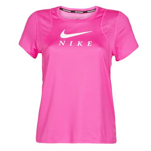 Roze dames tshirt Nike Run grapic - CJ1982 601