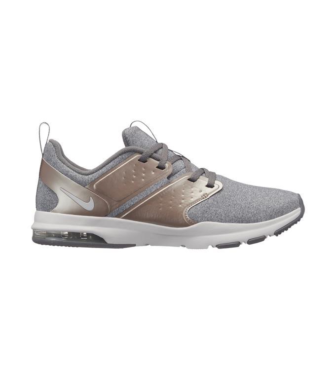 Grijze dames schoen Nike Air Max Bella Tr PRM - AQ0686 001