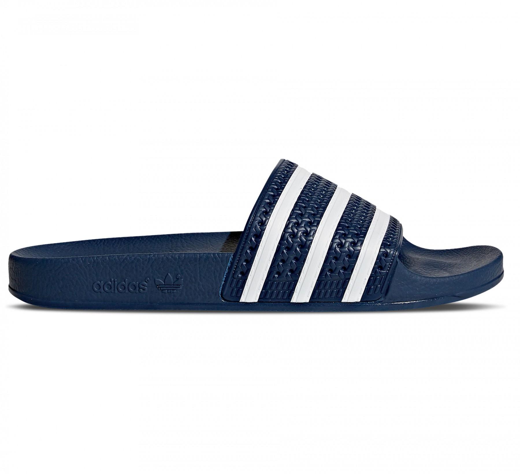 Donkerblauwe slippers Adidas Adilette Aqua - F35542 DKBLUE/FTWWHT/DK
