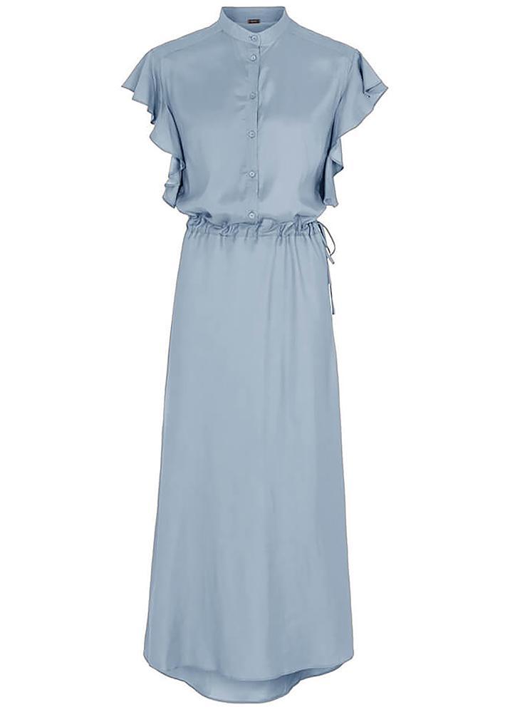 Blauwe dames jurk Gustav - 7228-0-2020