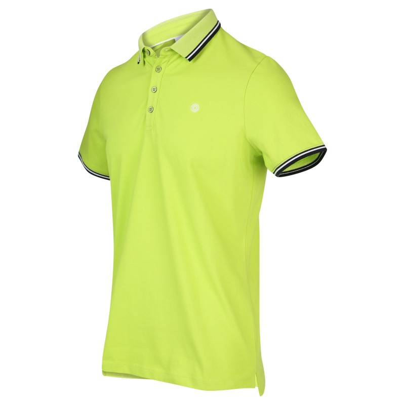 Groene heren polo Blue Industry - Kbis20-m24