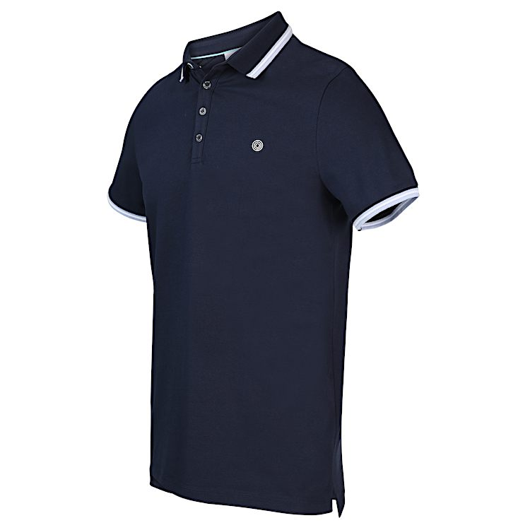 Blauwe heren polo Blue Industry - KBIS20-M24